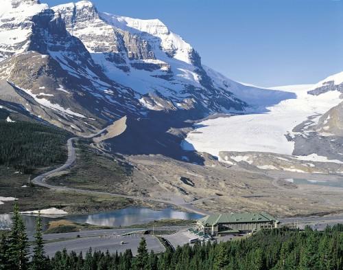 ジャスパー国立公園_コロンビア大氷原_アサバスカ氷河